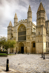 Rochester Cathedral (Alan Bourne) Tags: uk greatbritain england kent europe britishisles unitedkingdom britain ken rochester british medway