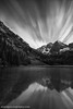 T H E - B E L L S - II (Silent G Photography) Tags: longexposure blackandwhite vertical landscape colorado rockymountains aspen relfection maroonbells pitkin maroonlake westernslope cloudmovement neutraldensity pitkincounty nikond800 markgvazdinskas silentgphotography silentgphoto