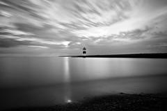Light in the Distance (Jaime Dillen-Seibel) Tags: longexposure sky lighthouse water clouds canon lakeerie pennsylvania pa presqueisle sigma175028 60d h66e66582