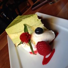 Green Tea Tiramisu @ Momiji (lightcnd) Tags: momiji greenteatiramisu foodspotting foodspotting:place=263552 foodspotting:review=3847031