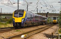 Fart Car & HST (kevaruka) Tags: newark railtour britishrail duff nottinghamshire hst eastcoastmainline class66 ews ecml networkrail class86 intercity125 class47 class92 dbschenker newarknorthgatestation grandcentralhst hatchetslane ilobsterit