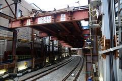 Track Moved Up to Open Entrance of New Underground Section (ykanazawa1999) Tags: japan tokyo construction shibuya daikanyama tokyu