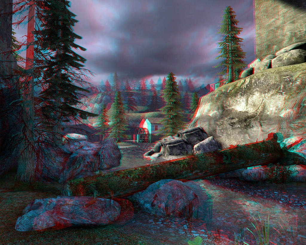 Stereoscopic 3d Gaming Computer: The World's Best Photos Of Anaglyph And Mountain