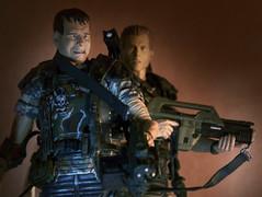 """Ok, Man... they're coming"" (Pato Berroeta) Tags: 2 action alien aliens figure hudson figuras figures accion hicks neca figura"