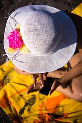 The hat (Genobusy) Tags: sicily vulcano nex7 sel3518