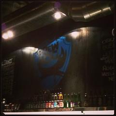 Inside and logued in @BrewDogEdin. Drinking Hardcore IPA!! (JF Sebastian) Tags: beer wall bar logo graffiti scotland bottle pub edinburgh unitedkingdom squareformat brewdog nexus4 morethan100visits morethan250visits instagramapp uploaded:by=instagram foursquare:venue=4d7fbc20b25d6dcb2893d342