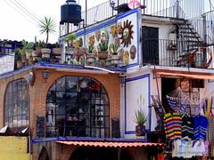 An Artisan lives here (D.Spence Photography) Tags: home latinamerica mexico store mexicocity artist pentax market k7 mercadodelaciudadela
