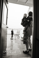 Ferrying to the island on a rainy day (grilljam) Tags: summer ewan 4yrs peaksisland september2013