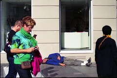 afterbang (sele3en) Tags: city streets color fuji russia bum september fujifilm saintpetersburg c41 2013