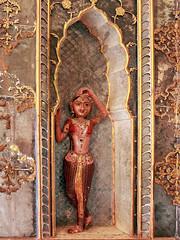 Tänzerin. Junagarh Fort, Bikaner.