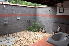 "Backwater Cottage - shower area • <a style=""font-size:0.8em;"" href=""http://www.flickr.com/photos/104879838@N08/10174968124/"" target=""_blank"">View on Flickr</a>"