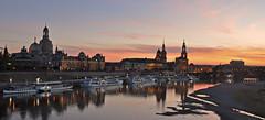 Germany - Dresden - sunset