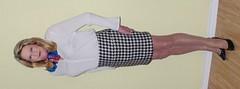 Skirt, blouse and scarf (donnacd) Tags: glasses tv beige pumps dress legs cd crossdressing dressing blouse tgirl nails sissy tranny heels tight miniskirt crossdresser crossdress ts crossed domina feminization travesti feminized xdresser transgenre tgurl