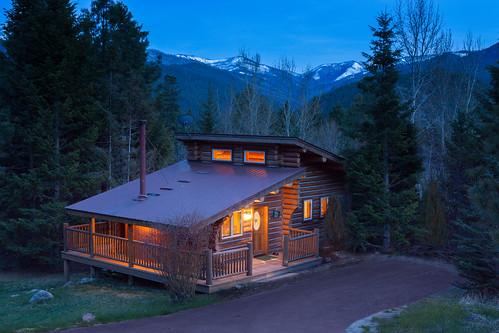 Triple Creek Ranch, Big Sky Cabin