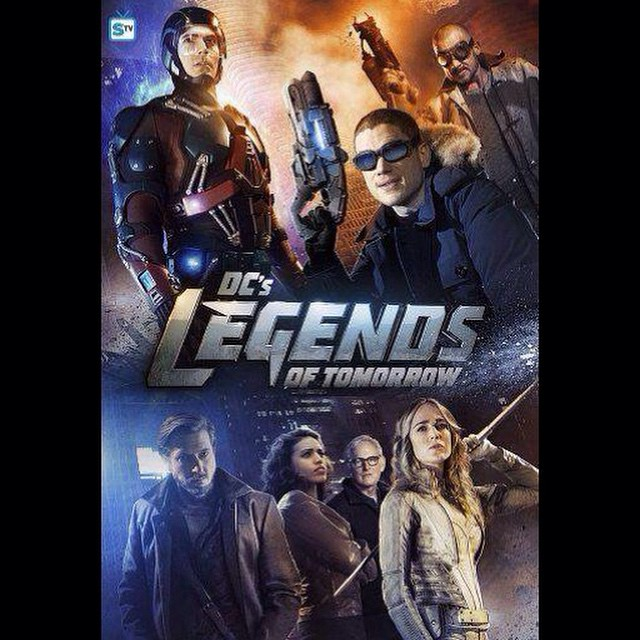 LEGENDS OF TOMORROW trailer up today. #legendsoftomorrow #flash #arrow #theatom #whitecanary #hawkgirl #firestorm #captaincold #heatwave #dccomics #riphunter