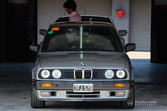 Old School BMW (nicocordes) Tags: auto argentina car race speed buenosaires automobile track headlights front oldschool german bmw boxes speedway autodromo automovil trackday autodrome sportcar bmwm speedtrack worldcars nicolascordes