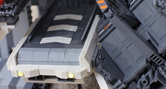 Space Runway (Blake Foster) Tags: lego space spaceship moc afol microscale