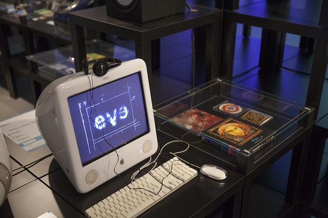 Welcome to the Future! The floppy cd-rom revolution - Pictures by Zoé Giloux (iMAL.org)