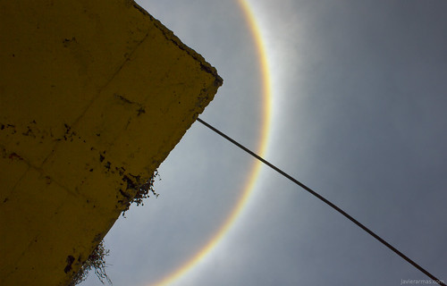 Halo solar. Ciudad de México