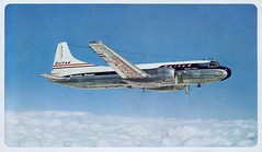 United Airlines, Mainliner Corvair (SwellMap) Tags: postcard vintage retro pc chrome 50s 60s sixties fifties roadside midcentury populuxe atomicage nostalgia americana advertising coldwar suburbia consumer babyboomer kitsch spaceage design style googie architecture airplane jet airliner airport