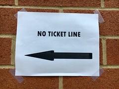 No Ticket Line - NYC (verplanck) Tags: brickwall venue nyc sign unionsquare