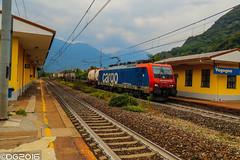 SBB E474.015 (DavideEos) Tags: eisenbahn ferrovia railway treno train zug merci freight binari domodossola sempione