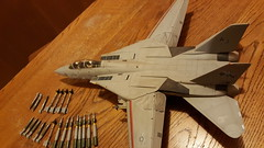 (F.S.F) Tags: f14d tomcat vf31 tomcatters christine 148scale plastic model fighter aircraft jet