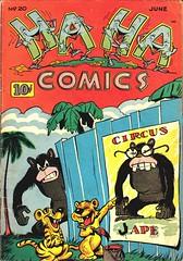 Ha Ha 20 (Michael Vance1) Tags: art artist anthology funnyanimals fantasy funny humor comics comicbooks cartoonist goldenage