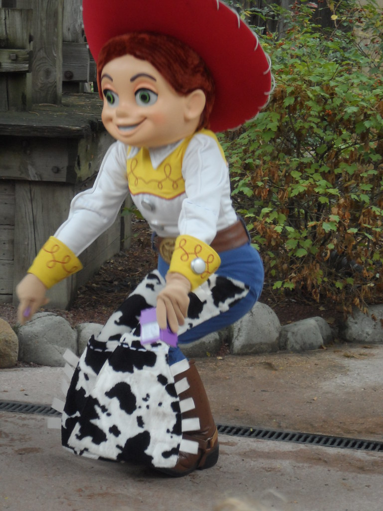 toy story characters meet jessie