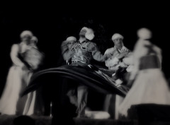Sufi musicians and whirling dervishes at the Sufi Music Festival in Jaipur in the photo app Stackables (elizabatz.jensen) Tags: sufi musicians whirlingdervishes sufimusic festival jaipur india photoapp stackables