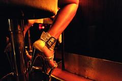 Waiting for Customers (Mental Octopus) Tags: safari hamburg germany showgirl bargirl prostitute prostitution indoor nightlife show redlight redlightdistrict bar highheel highheels reeperbahn sextheater woman girl fetish sexy sexworker workingpoor socialissue