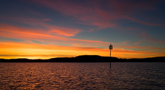 October sunset, Frya, Norway (harald.bohn) Tags: sunset solnedgang kveld sjmerke frya srtrndelag norge norway hst oktober october