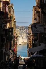 Valletta Street (Lawrence OP) Tags: malta street view unesco valletta