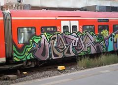 Graffiti (Honig&Teer) Tags: graffiti honigteer hannover spraycanart sport sbahn steel eisenbahngraffiti train treno trackside traingraffiti trainart railroadgraffiti db deutschebahn regio
