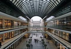Mall of Berlin (ditmaliepaard) Tags: mallofberlin berlijn berlin a6000 sony winkels duitsland germany bej