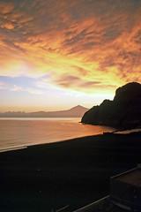 Hermigua - Sonnenuntergang (astroaxel) Tags: spanien kanarische inseln la gomera hermigua sonnenuntergang teneriffa pico teide