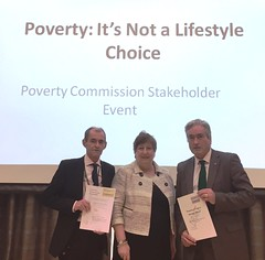 At Poverty Commission stakeholder event