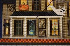 November 18 2016, Friday (interchangeableparts) Tags: worksinprogress needlepoint mfboo kirkbradley hauntedhouse halloweenstitching