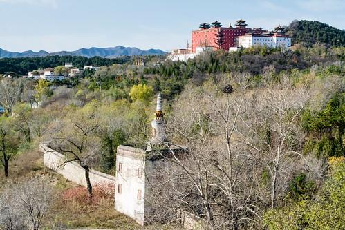 Vue sur le Potala de Chengde