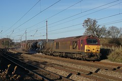 67024 28-11-16 (IanL2) Tags: rhtt class67 67024 emd trains railways mml