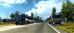 Dakar Logistic i SpediStar (AMF/ire256) Tags: dakar logistic admin truckersmp volvo renault premium fh4 multiplayer ets2 spedi star