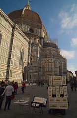Duomo di Firenze (Diego Innocenti) Tags: florence firenze italy italia hs20 hs20exr toscana tuscany duomofirenze duomo church tower cupola brunelleschi cupoladibrunelleschi color colors art streetart paint paints painting