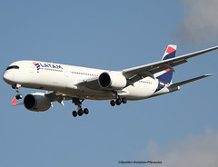 LATAM Airlines Brasil. Airbus A350-941. (Jacques PANAS) Tags: latam airlines brasil airbus a350941 prxtf fwzfn msn064