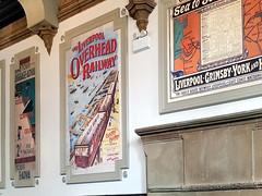 Overhead Railway (innpictime  ) Tags: pub bar railway station decor wetherspoons 534083732978743 liverpool limestreet greatnorthern posters overheadrailway