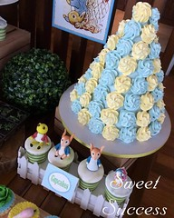 Peter Rabbit Dessert Table Details (sweetsuccess888) Tags: instagramapp square squareformat iphoneography uploaded:by=instagram sweetsuccess meringuetower cupcakes peterrabbit desserttable dessertbar dessertbuffet eventstyling philippines peterrabbitparty