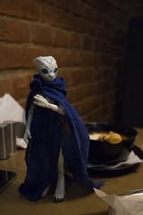 2016-11-05 16-16-12 (Maria Zeligen /Zeligen/) Tags: 3d 3dprint 3dmodel reptile mass effect garrus turian monster alien girl zbrush bjd doll