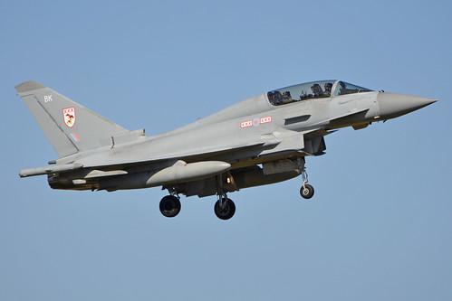 Eurofighter Typhoon T.3 'ZJ812 / BK'