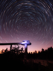 Polaris Above (Waterfall Guy) Tags: north star polaris tails great smoky mountians national park tennessee starstax