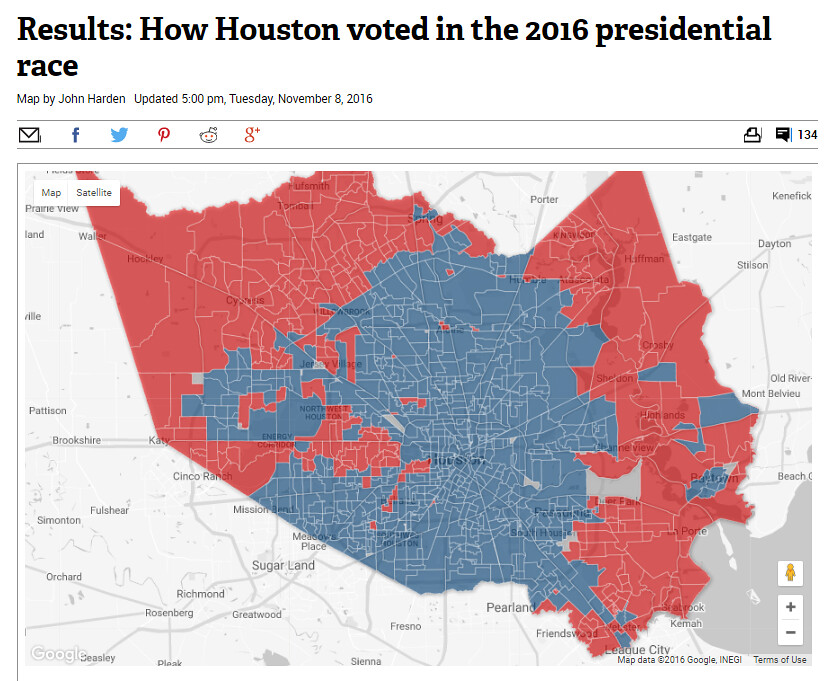 How Houston Voted in the 2016 Presidential Election HARcom