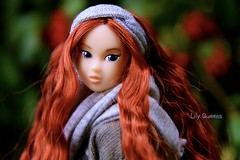 Jessie Portrait ( Lily Queens ) Tags: jessie ccs momoko doll victorian nature red